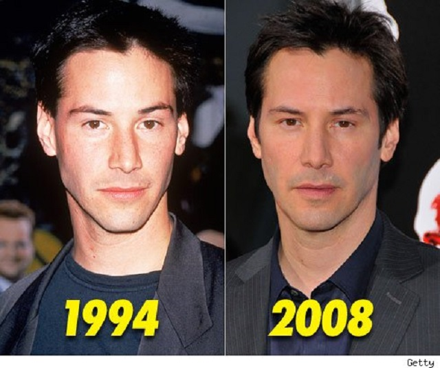 Keanu Reeves believed to be a vampire and/or time ...