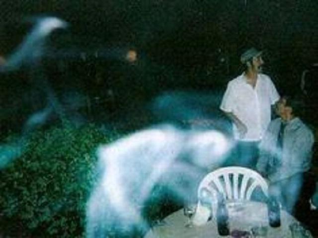 Le fantôme d'Old Hag pris en photo au musée de Fort Worth